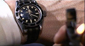 Rolex Submariner in James Bond