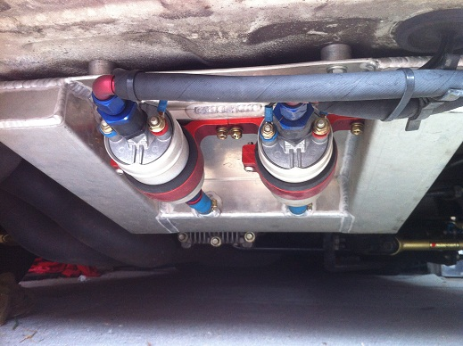 Inline Surge Tank : Fueling for hp gt r register nissan skyline and